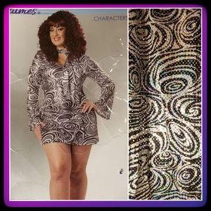 Calif Costume*Disco Diva Costume
